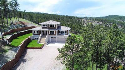 Rapid City Single Family Home For Sale: 11598 High Valley Dr