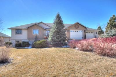Rapid City Single Family Home U/C Contingency: 4824 Enchanted Pines Dr