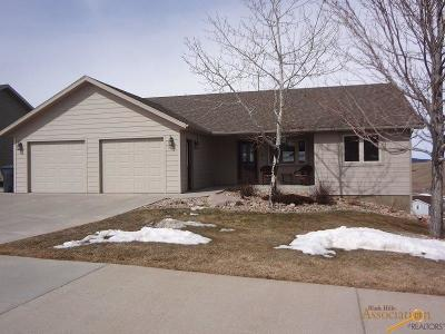 Spearfish Single Family Home U/C Contingency: 3310 Roughlock Ln