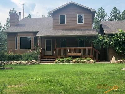 Rapid City Single Family Home For Sale: 7925 Meadow View Ct