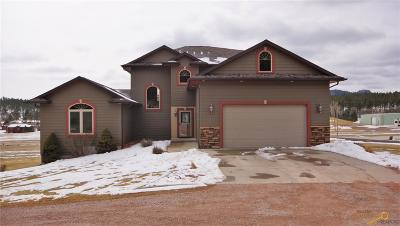 Rapid City Single Family Home For Sale: 13466 Sawmill Rd