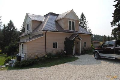 Deadwood Single Family Home For Sale: 11911 Nemo Rd