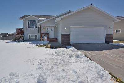 Rapid City Single Family Home U/C Contingency: 2423 Shad