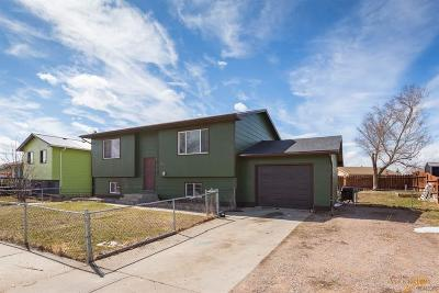 Rapid City Single Family Home U/C Contingency: 1613 Pennington