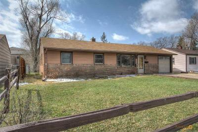 Rapid City Single Family Home U/C Contingency: 829 E Tallent