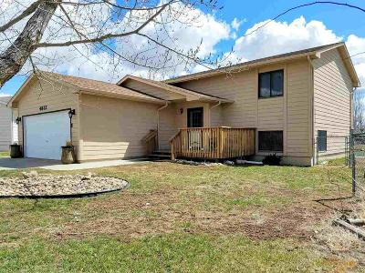 Rapid City Single Family Home U/C Contingency: 4832 Johnston Dr