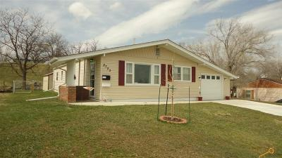 Rapid City Single Family Home U/C Contingency: 2723 Maple Ave