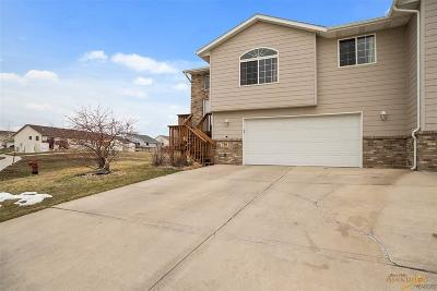 Rapid City Condo/Townhouse For Sale: 716 Auburn Drive