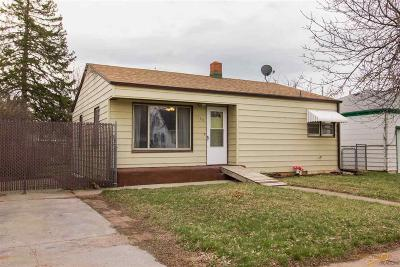 Rapid City Single Family Home For Sale: 1716 Rushmore St