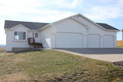 Rapid City Single Family Home For Sale: 23005 Candlelight Dr