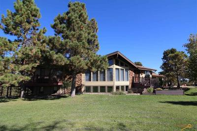 Rapid City Single Family Home For Sale: 1780 Skyline Ranch Rd