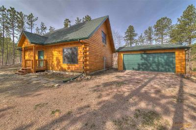 Rapid City Single Family Home For Sale: 23151 Pactola Dr