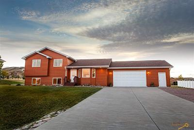 Rapid City Single Family Home For Sale: 2726 Wild Horse Dr
