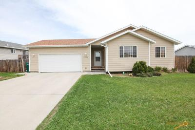 Rapid City Single Family Home For Sale: 3370 Remington Rd