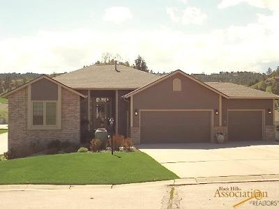Rapid City Single Family Home For Sale: 5025 Stoney Creek Dr