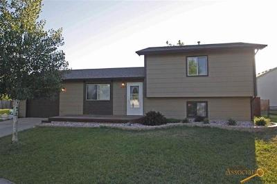 Rapid City Single Family Home U/C Contingency: 3129 Teewinot Dr