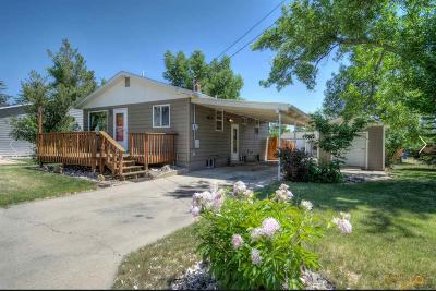 Rapid City Single Family Home For Sale: 2026 Forest St
