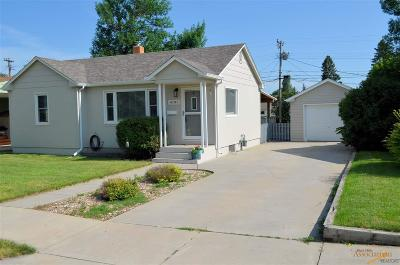 Rapid City Single Family Home For Sale: 4101 Pleasant Dr