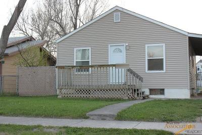 Rapid City Single Family Home For Sale: 917 Wood Ave