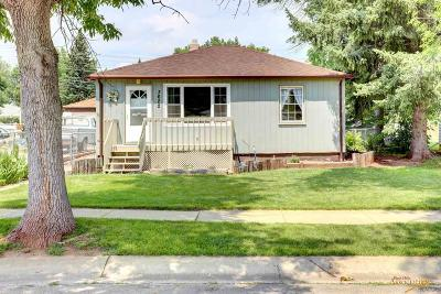 Rapid City Single Family Home For Sale: 3622 Hall