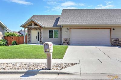 Rapid City Condo/Townhouse For Sale: 947 Northridge Dr