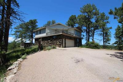 Rapid City Single Family Home For Sale: 6140 Timberline Rd W