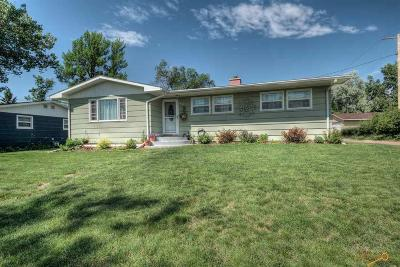 Rapid City Single Family Home For Sale: 621 36th
