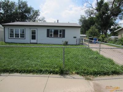 Single Family Home For Sale: 1209 Racine