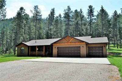 Rapid City Single Family Home For Sale: 22543 Aspen Dr