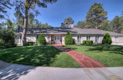 Rapid City Single Family Home For Sale: 201 S Berry Pine Rd
