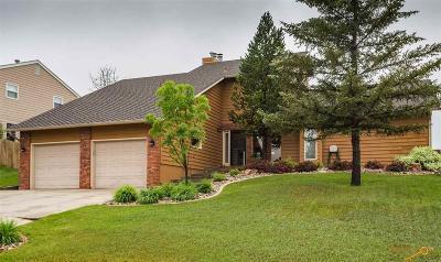 Rapid City Single Family Home U/C Contingency: 3709 Parkridge Dr