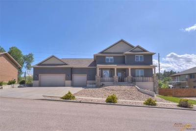 Rapid City Single Family Home For Sale: 3013 Motherlode Dr