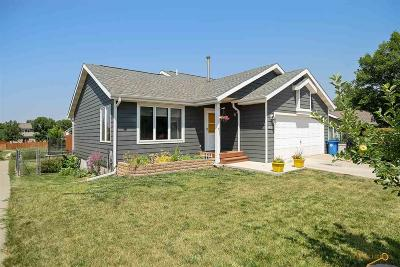 Rapid City Single Family Home U/C Contingency: 4035 Prairie View Dr