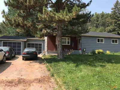 Rapid City Single Family Home U/C Contingency: 1505 38th