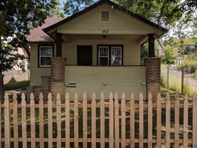 Single Family Home For Sale: 1012 Rushmore