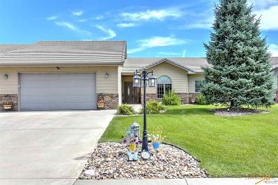Rapid City Condo/Townhouse For Sale: 3576 Padre Dr