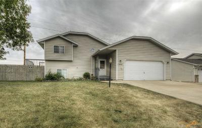 Rapid City Single Family Home For Sale: 1090 Tinton Ln