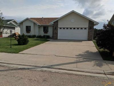 Rapid City Single Family Home For Sale: 1365 Edinborough Dr