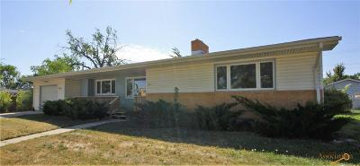 Rapid City Single Family Home For Sale: 813 St Patrick