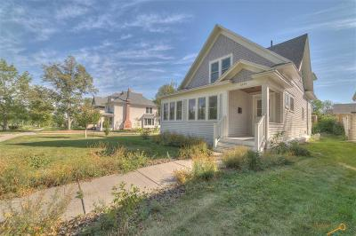 Rapid City Single Family Home For Sale: 1224 West Blvd
