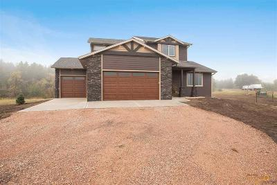 Rapid City, Hermosa, Box Elder, Black Hawk, Rapid Valley, Summerset, Piedmont, Piedmont Valley Single Family Home For Sale: 21625 Northwood Dr