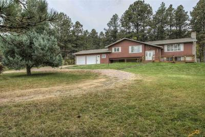 Rapid City Single Family Home U/C Right Of Refusal: 4001 Canyon Dr