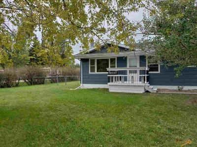 Spearfish, Deadwood/central City, Deadwood, Strugis, Whitewood, Belle Fourche, Spearfish Canyon Single Family Home U/C Take Back Ups: 309 Upper Valley Rd