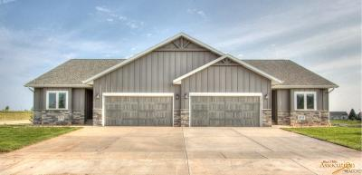 Rapid City Condo/Townhouse For Sale: 1536 Oxford Ct