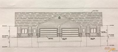 Rapid City Condo/Townhouse For Sale: Tbd Lot 7b Oxford Ct