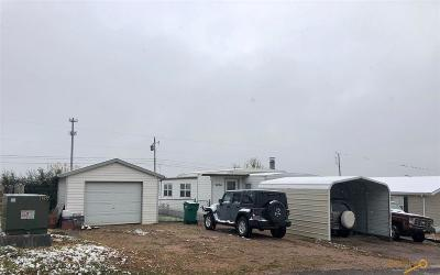 Rapid City, Box Elder, Piedmont, Black Hawk, Hermosa, Summerset, New Underwood Manufactured Home For Sale: 6004 Eastside Dr