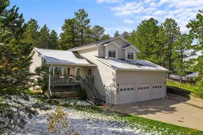 Rapid City Single Family Home For Sale: 1343 Ponderosa Pl