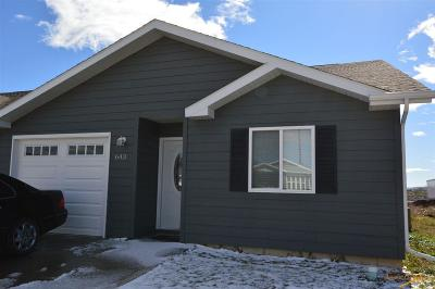 Rapid City Condo/Townhouse For Sale: 643 Kathryn Ave