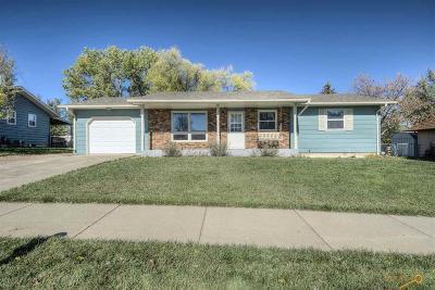 Rapid City Single Family Home U/C Contingency: 110 Texas