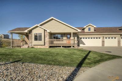 Rapid City Condo/Townhouse For Sale: 332 Dunbar Ct